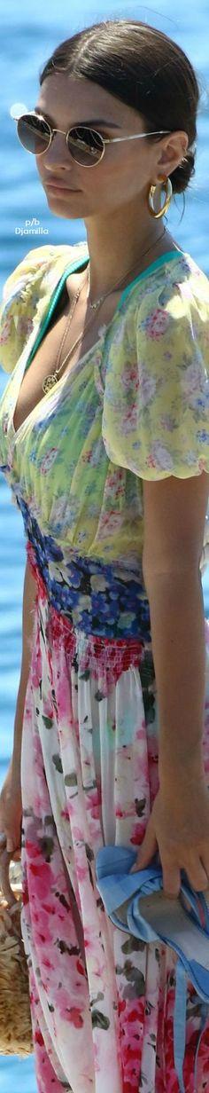 Emily Ratajkowski – Arriving at Eden Rock in Cannes, France