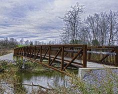 Bridge over the Normanskill - Tawasentha Park, Guilderland NY