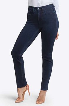 Curves 360 by NYDJ Slim Straight Leg Jeans (Bowen)
