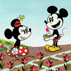 Mickey And Minnie Love, Mickey Mouse Shorts, Mickey Mouse Wallpaper, Mickey Mouse Cartoon, Mickey Mouse And Friends, Mickey Minnie Mouse, Disney Wallpaper, Trippy Wallpaper, Retro Disney