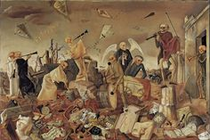 'Triumph des Todes (Die Gerippe spielen zum Tanz)', 1944 by Felix Nussbaum - Felix Nussbaum – Wikipedia