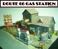Route 66 gasstation