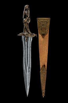 A very scarce ceremonial dagger, Italy, 19th century