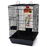 Bird Life Penn Plax Starter Kit Cage with Accessories for Small Parrots, Small Bird Cage, Small Birds, Conure Bird, Parakeet Cage, Plastic Trays, Bird Perch, Bird Cages, Bird Toys, Plastic Laundry Basket