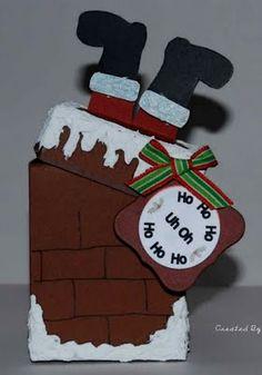 santa chimney box