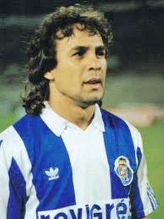 """Madjer, ancien joueur du FC Porto.et de l""""équipe Algérienne."""