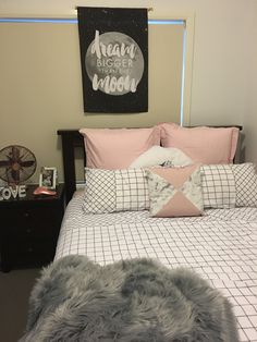 My Kmart Style Kmartstyle Trent Quilt Cover 26 Marble Splice Cushion 10 Faux Fur Rug 19 Copper Fan39 Mirror Frame 6