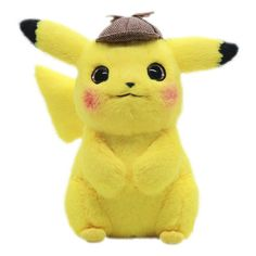 Pikachu Plush Toy Stuffed Toy Detective Pikachu Japan Movie Anime Toys for Children Doll for Kid Baby Birthday Gifts Anime by babyandkidsnew on Etsy Pikachu Pikachu, Pokemon Toy, Plush Dolls, Doll Toys, Toys For Boys, Kids Toys, Movie Gift, Anime Toys, Cute Plush