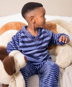 Fleece Pajamas, Boys Pajamas, Pyjamas, Dinosaur Stuffed Animal