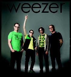 Weezer AHH I love them with a passion