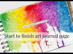 I share how to create a easy and fast art journal page. ——— S U P P L I E S ——— Scrapbook.com • Prima - Mixed Media - Book —— https://ldli.co/e/lmmeg • Tim H...
