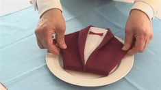 How To Fold A Dinner Jacket Napkin