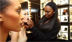 Skin Deep - A Celebrity Makeup Artist Dusts Her Glitter on the Masses - NYTimes.com