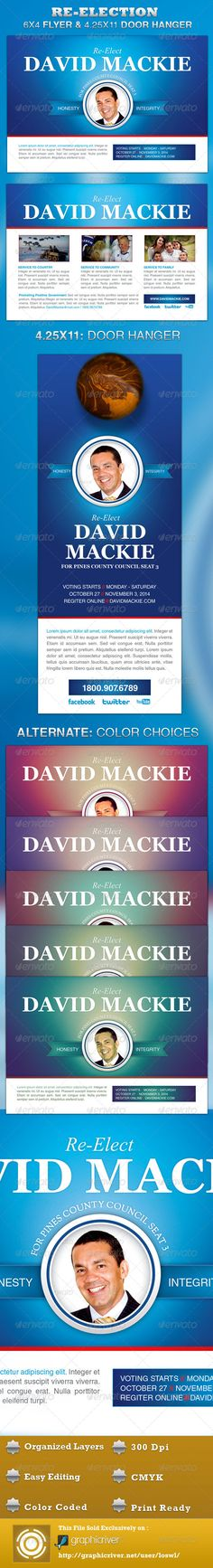 1000 images about political flyer template on pinterest for Election brochure template