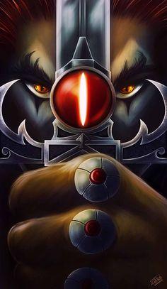 Espada Thundercats Costume, Thundercats Characters, Web Banner Design, Batman Wallpaper, Cartoon Wallpaper, Cartoon Art, Comic Art, Comic Books, Phone Wallpapers