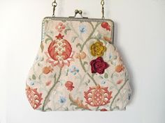 Telartesana: Bolsos de tela con boquilla