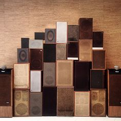 speakers wall (at Christophe Lemaire)
