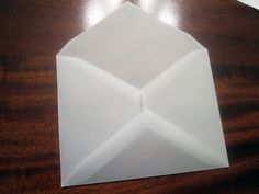 Free downloadable envelope template