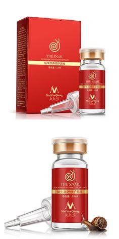 [Visit to Buy] Dropship Brand 100% Collagen Liquid Essence Skin Repair Anti-aging Moisturizing Face Glow Firming Whitening Snail Face Serum #Advertisement
