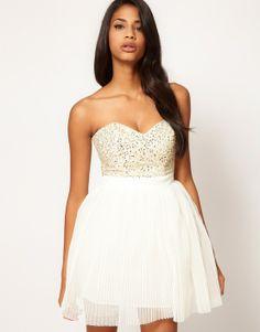 ASOS Lipsy Embellished Dress