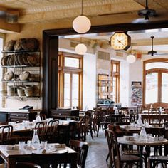 Pastis - Try to make a reservation—at least a week or two in advance—for Balthazar's sister restaurant, as it embodies the lively buzz and crowdedness of the surrounding Meatpacking District