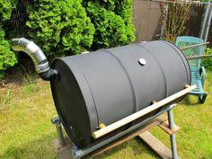 idée récup : barbecue avec un bidon