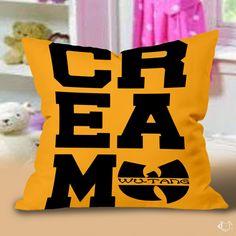 Cream Wutang Pillow Cases