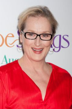 dec725d7f8b Meryl Streep always looks gorgeous in glasses. Famous Frames  Celebrity  Reading Glasses Happy Eyes