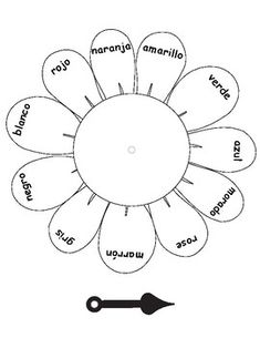 Colors in German ~ Die Farben ~ Color Spinner This color spinner is designed for children who are learning color names in German. It comes in color and as a worksheet that can be colored in. Mickey Coloring Pages, Kindergarten Worksheets, Spanish Worksheets, German Language Learning, Learn German, Class Activities, Cute Doodles, Math For Kids, Learning Colors