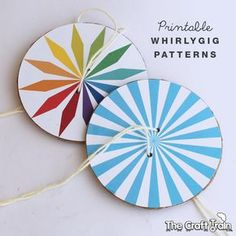 You might have heard of whirlygigs before, they are a classic craft that has been around for generations. Apparently even the Native Americans had their own version of this toy as early as 500BC, and they were also popular back in the great depression using old buttons or similar as the centre piece when kids didn't have many toys. They are very easy to make, almost too easy, and kids will
