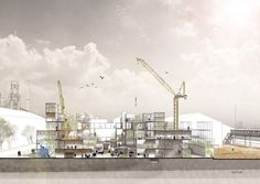 New generation collectivism | Jing Qiang | Archinect Architecture Student, Student Work, News