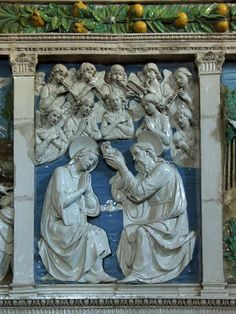 Andrea della Robbia, Couronnement de Marie