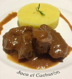 Spanish Kitchen, Spanish Food, Spanish Recipes, Pork Recipes, Mexican Food Recipes, Tapas, Madrid Food, My Favorite Food, Favorite Recipes