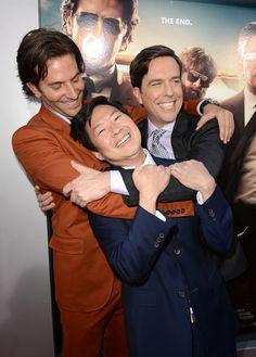 The Hangover Crew Goofs Around at LA Premiere