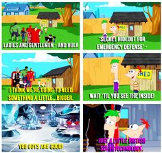 Doctor Who reference in Phineas and Ferb. Your argument is invalid.__ I got that reference when it aired!