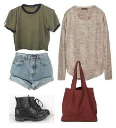 """What I'd wear"" by prusius on Polyvore featuring Zara and Levi's"