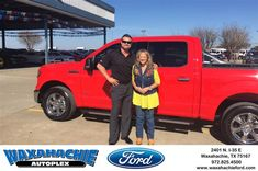 Today was the best car buying time ever!! Love you Justin!!!-SUSAN MOON, Monday 1/25/2016 http://www.waxahachieford.com/?utm_source=Flickr&utm_medium=DMaxxPhoto&utm_campaign=DeliveryMaxx
