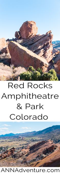 Red Rocks Park and Amphitheatre Walk - ANNAdventure