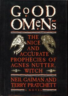 Good Omens by Neil Gaiman & Terry Pratchett. (Black Comedy) A  countdown to doomsday. With witches, Demons, Angels and Relatives.