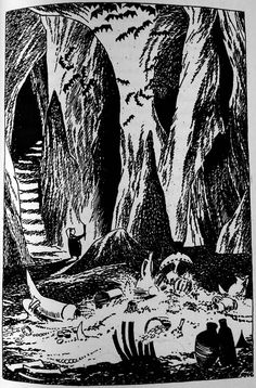 The Hobbit, illustrated by Tove Jansson of Moomin - Album on Imgur