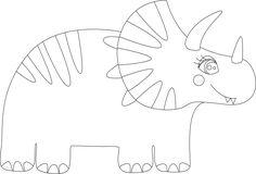 Molde de Dinosaurio hecho con Illustrator. Más fotografías dando clic a la imagen. Embroidery, Dinosaur Decorations, So Done, Needlework, Drawn Thread, Stitch, Stitches