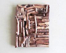 Mosaic Driftwood Wall Art, Beach Home Decor, Coastal Wall Art, Driftwood Wall Hanging Art, Driftwood Home Decor,
