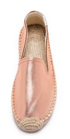 rose gold espadrilles