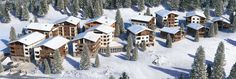 Visit Switzerland this winter & ski the famous Swiss Alps! And take in those gorgeous mountain views!