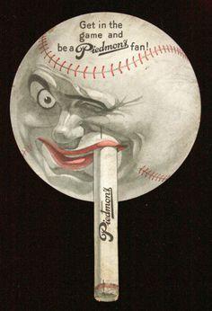 old baseball display advertising - Google Search