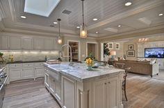 Ranch style kitchen
