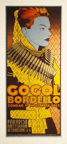 sperry Gogol Bordello - Paradiso Amsterdam 2013