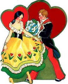 Cute image for Valentine's Day. My Funny Valentine, Images For Valentines Day, Valentines Greetings, Vintage Valentine Cards, Valentine Day Love, Valentine Crafts, Vintage Cards, Valentine Stuff, Vintage Ephemera