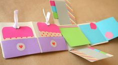 "DIY: Album Scrapbook mini-pocket ""Fold"""
