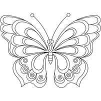 Butterfly Coloring Pages, Learn More About Butterfly Here. Butterfly coloring pages collection. Print a free selection of butterfly coloring and drawing for chi Butterfly Coloring Page, Butterfly Drawing, Butterfly Embroidery, Butterfly Stencil, Machine Embroidery Designs, Embroidery Patterns, Hand Embroidery, Embroidery Stitches, Butterfly Template